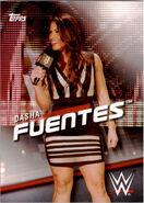 2016 WWE Divas Revolution Wrestling (Topps) Dasha Fuentes 21