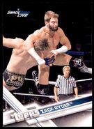 2017 WWE Wrestling Cards (Topps) Zack Ryder 59