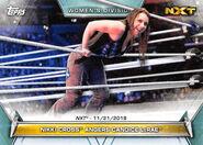 2019 WWE Women's Division (Topps) Nikki Cross 91