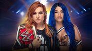 COC 2019 Becky Lynch vs. Sasha Banks