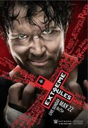 Extreme Rules 2016 official WWEShop.com Poster