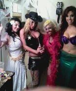 Lovely Lylah, Jessie Belle, Ray Lyn, & Taeler Hendrix OVW 2013