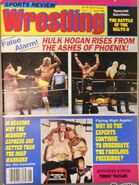 Sports Review Wrestling - June 1986