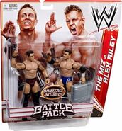 WWE Battle Packs 13 The Miz & Alex Riley