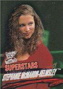 2001 WWF WrestleMania (Fleer) Stephanie McMahon 24