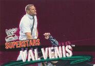 2001 WWF WrestleMania (Fleer) Val Venis 60