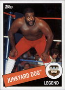 2015 WWE Heritage Wrestling Cards (Topps) Junkyard Dog 28