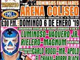 CMLL Guadalajara Domingos (January 6, 2019)
