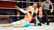 Curtis Axel versus Sin Cara on Friday Night SmackDown