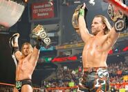 Raw 1-25-10 Triple H and Michaels