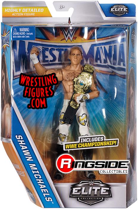 Shawn Michaels Elite Series 44B WWE Mattel Wrestling Figure