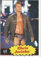 2012 WWE Heritage Trading Cards Chris Jericho 10