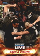 2013 TNA Impact Wrestling Live Trading Cards (Tristar) Aces & Eights 62