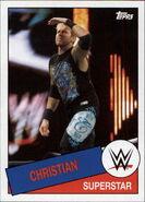 2015 WWE Heritage Wrestling Cards (Topps) Christian 68