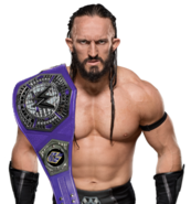 Neville wwe cruiserweight champion by nibble t-dawukml