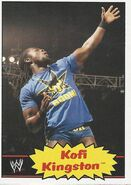 2012 WWE Heritage Trading Cards Kofi Kingston 23