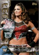2017 Legends of WWE (Topps) Eve Torres 33