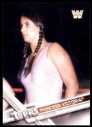 2017 WWE Wrestling Cards (Topps) Princess Victoria 99