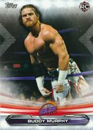 2019 WWE Raw Wrestling Cards (Topps) Buddy Murphy 77