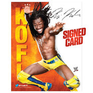 Kofi Kingston Signed Photo