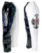 Rey Mysterio Black & White Youth Replica Pants