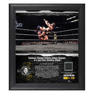Tommaso Ciampa NXT TakeOver Brooklyn 2018 15 x 17 Framed Plaque w Ring Canvas