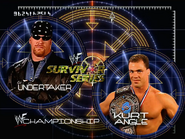 Undertaker vs. Kurt Angle Survivor Series 2000