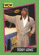1991 WCW (Impel) Teddy Long 152