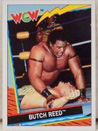 1992 WCW Trading Cards (Topps) Butch Reed 9