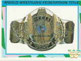1995 WWF Wrestling Trading Cards (Merlin) World Wrestling Federation Title (No.44)