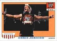 2008 WWE Heritage IV Trading Cards (Topps) Chris Jericho 9
