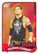 2018 WWE Heritage Wrestling Cards (Topps) Baron Corbin 8