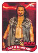 2018 WWE Heritage Wrestling Cards (Topps) Drew McIntyre 97