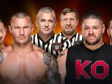 Clash of Champions 2017 Randy Orton & Shinsuke Nakamura vs. Kevin Owens & Sami Zayn