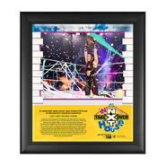 Io Shirai NXT TakeOver In Your House 2020 15 x 17 Limited Edition Plaque
