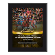 The New Day Clash of Champions 2016 10 x 13 Photo Plaque