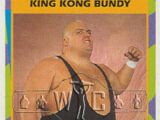 1995 WWF Wrestling Trading Cards (Merlin) King Kong Bundy (No.17)