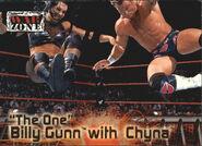 2001 WWF RAW Is War (Fleer) Billy Gunn with Chyna 64