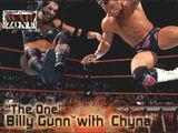 2001 WWF RAW Is War (Fleer) Billy Gunn with Chyna (No.64)