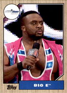 2017 WWE Heritage Wrestling Cards (Topps) Big E 14