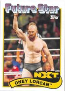 2018 WWE Heritage Wrestling Cards (Topps) Oney Lorcan 106