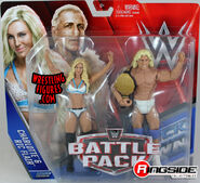Charlotte & Ric Flair - WWE Battle Packs 41