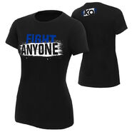 Kevin Owens Fight Anyone Women's Authentic T-Shirt