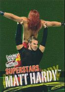 2001 WWF WrestleMania (Fleer) Matt Hardy 3