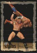 2004 WWE Chaos (Fleer) Brock Lesnar 57