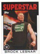 2016 WWE Heritage Wrestling Cards (Topps) Brock Lesnar 7