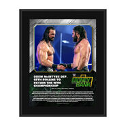 Drew McIntyre Money In The Bank 2020 10 x 13 Limited Edition Plaque