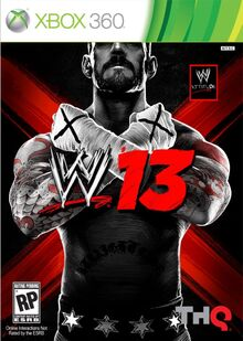 WWE '13 のカバー
