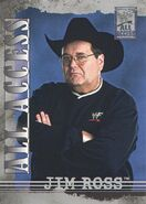 2002 WWF All Access (Fleer) Jim Ross 36