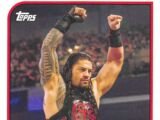 2018 WWE Heritage Wrestling Cards (Topps) Roman Reigns (No.63)